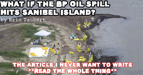 BP Oil Spill hits Sanibel